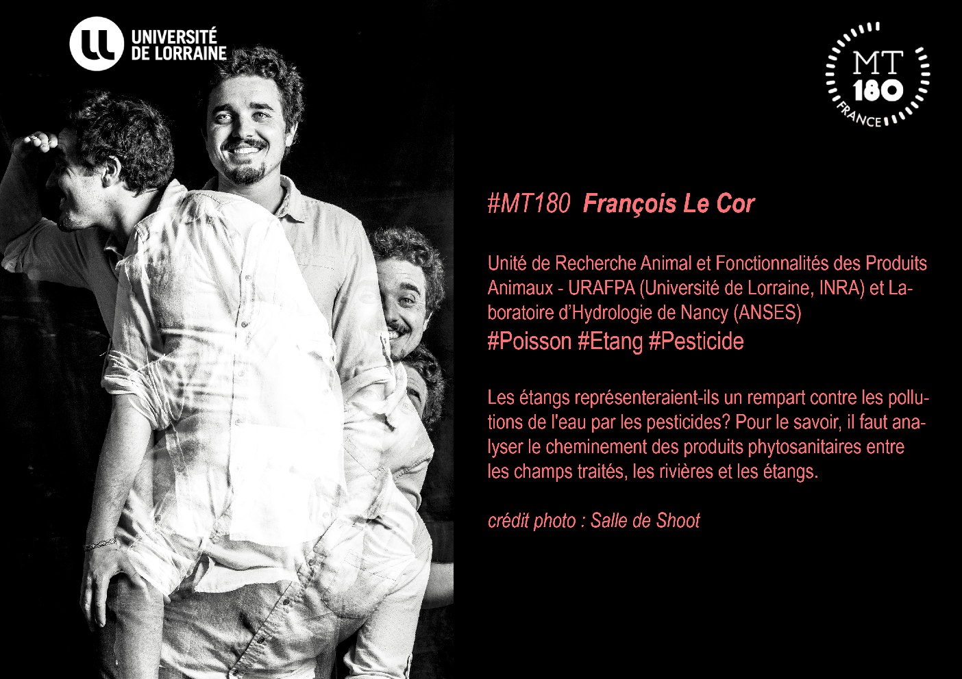Voir le document lié de '#MT180 François Le Cor'